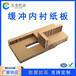 廣州佛山蜂窩紙板內襯定制家具防撞電子緩沖紙卡板包裝紙箱內墊