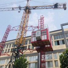 山东豪科生产施工电梯,电动吊篮等建筑机械图片