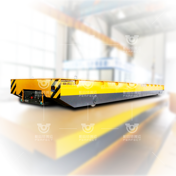 電動軌道平板車雙軌遙控運行輕型電動搬運車可定制