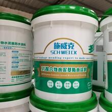 廠家js聚合物水泥基防水涂料衛生間補漏藍色js防水涂料圖片