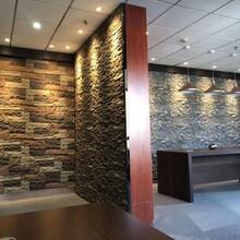 安徽人造石廠家制造仿真石材聚氨酯蘑菇石大尺寸背景墻圖片
