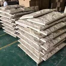 湖北輕質人造石PU石皮工廠阻燃隔熱硬質大尺寸石材商場別墅庭院圖片