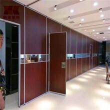 新巢隔斷酒店活動隔墻吊頂軌道隔斷屏風辦公室會議室移動隔音墻圖片