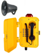 隧道廣播電話機擴音抗噪電話機工業抗噪電話機