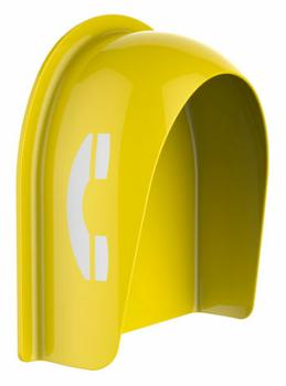 玻璃鋼電話亭壁掛式電話亭公用電話亭防火阻燃電話亭