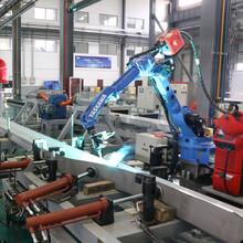 全自動焊接機器人單工位圖片