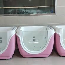 婴儿洗浴中心宝宝洗礼池游泳池护理平PMM高分子材质图片