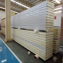 冷庫保溫墻版廠家聚氨酯保溫板價格組合式冷庫板安裝圖片