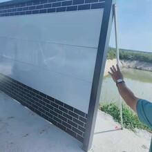 黑白裝配式圍擋A濰坊鋼結構施工圍擋廠家A復古圍墻圍擋圖片