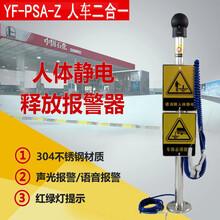 萍鄉加油站人體靜電釋放器聲光報警裝置油庫門口圖片