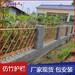 宜春不銹鋼仿竹護欄別墅園林景區菜園子竹節籬笆圍欄綠化護欄