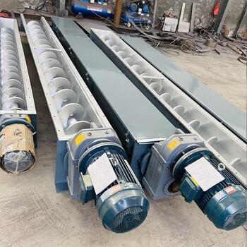 不銹鋼螺旋輸送機的使用工況