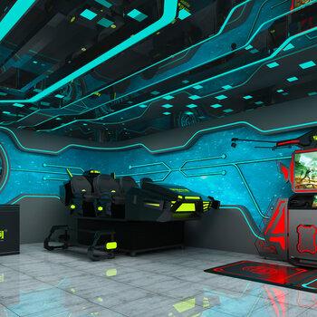 加盟VR线下体验店各种设备9D体验VR影院动感设计操作游戏