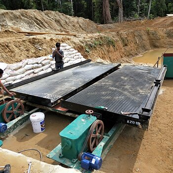 江西選礦搖床河道沙金搖床銅礦鐵礦錫礦分選搖床重選設備