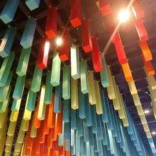 金屬裝飾鋁型材護欄方通格柵吊頂天花廠家圖片