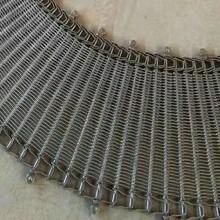 烘焙食品冷却螺旋塔链网订制不锈钢螺旋网带金属网带不锈钢传送带图片