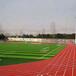 桂林塑膠球場塑膠跑道施工