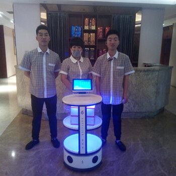 智能移动餐车租赁餐厅送餐迎宾餐厅服务